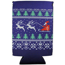 Load image into Gallery viewer, Christmas Sweater Pattern 16 oz. Can Coolie