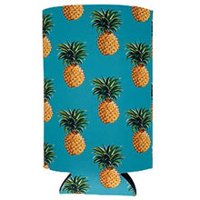 Load image into Gallery viewer, Pineapple Pattern 16 oz. Can Coolie