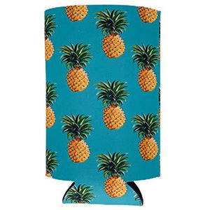 Pineapple Pattern 16 oz. Can Coolie