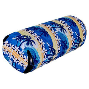 Waves Tropical Beach Pattern Slim Can Coolie
