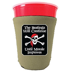 The Beatings Will Continue Party Cup Coolie
