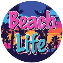 Load image into Gallery viewer, Beach Life Vinyl Sticker