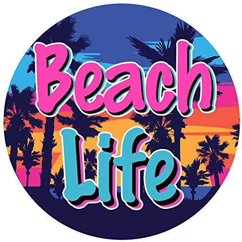 Beach Life Vinyl Sticker