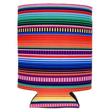 Load image into Gallery viewer, Serape Pattern Can Coolie