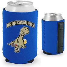 Load image into Gallery viewer, Drunkasaurus Magnetic Can Coolie