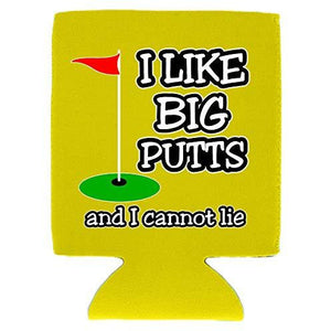 I Like Big Putts Magnetic Can Coolie