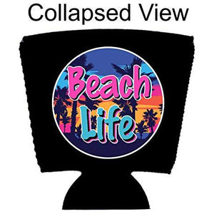 Beach Life Party Cup Coolie