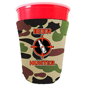 Beer Hunter Party Cup Coolie