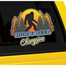 Load image into Gallery viewer, Hide and Seek Champion Bigfoot Vinyl Sticker
