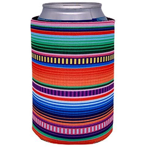 can koozie with serape design
