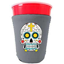 Load image into Gallery viewer, Sugar Skull Party Cup Coolie