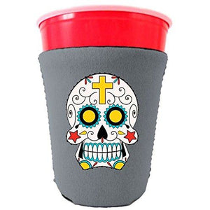 Sugar Skull Party Cup Coolie