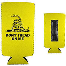Load image into Gallery viewer, Gadsden Flag Magnetic Slim Can Coolie
