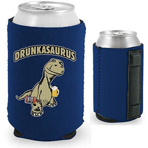 Drunkasaurus Magnetic Can Coolie