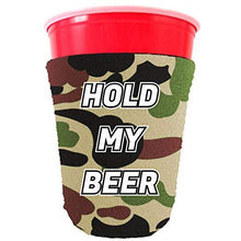 Load image into Gallery viewer, Hold My Beer Party Cup Coolie