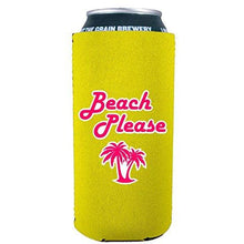 Load image into Gallery viewer, Beach Please 16 oz Can Coolie