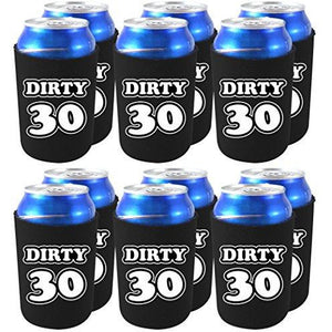 Dirty 30 Birthday Can Coolie