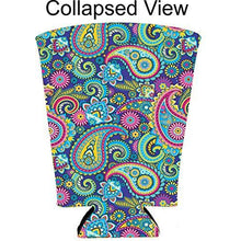 Load image into Gallery viewer, Paisley Pattern Pint Coolie