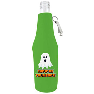 Show Me Your Boos! Been Beer Bottle Coolie With Opener