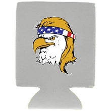 Load image into Gallery viewer, Bald Eagle Mullet Magnetic Can Coolie