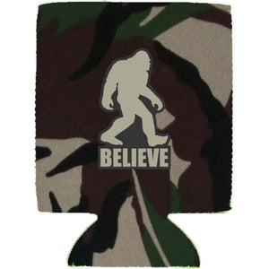 Bigfoot Believe Magnetic Can Coolie