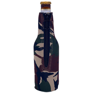 Two Beer Or Not Two Beer Bottle Coolie With Opener