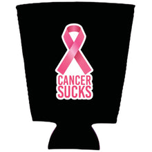Load image into Gallery viewer, Cancer Sucks Neoprene Pint Glass Coolie