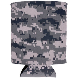 Digital Camouflage Pattern Can Coolie