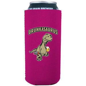 Drunkasaurus 16 oz. Can Coolie