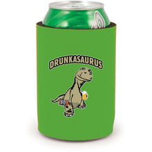 Load image into Gallery viewer, Drunkasaurus Full Bottom Can Coolie
