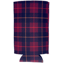 Load image into Gallery viewer, Flannel Plaid Pattern 16 oz. Can Coolie