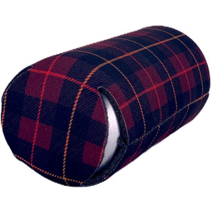 Flannel Plaid Pattern 16 oz. Can Coolie