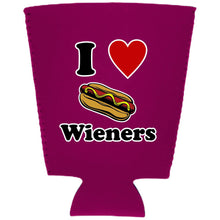 Load image into Gallery viewer, I Lover Wieners Pint Glass Coolie
