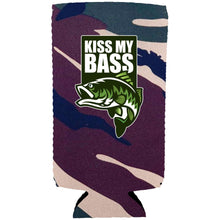 Load image into Gallery viewer, Kiss My Bass Slim Can Coolie