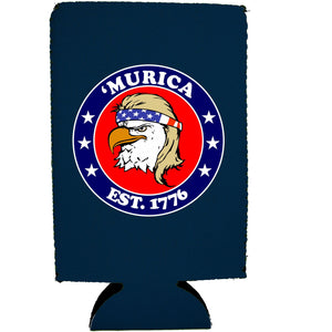Murica 1776 16 oz. Can Coolie