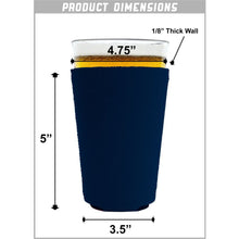 Load image into Gallery viewer, World Countries Flag Neoprene Collapsible Pint Glass Coolie