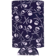 Load image into Gallery viewer, Pirate Pattern 16 oz. Can Coolie