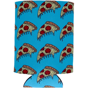 Pizza Slice Pattern Pattern Can Coolie