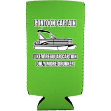 Load image into Gallery viewer, Pontoon Captain Slim Can Coolie