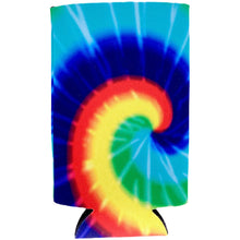 Load image into Gallery viewer, Tie Dye 16 oz. Can Coolie