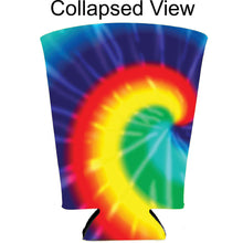 Load image into Gallery viewer, Tie Dye Pattern Pint Glass Coolie