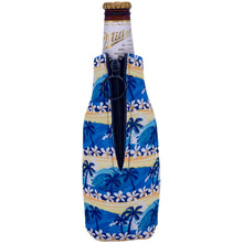 Load image into Gallery viewer, Waves Tropical Pattern Beer Bottle Coolie