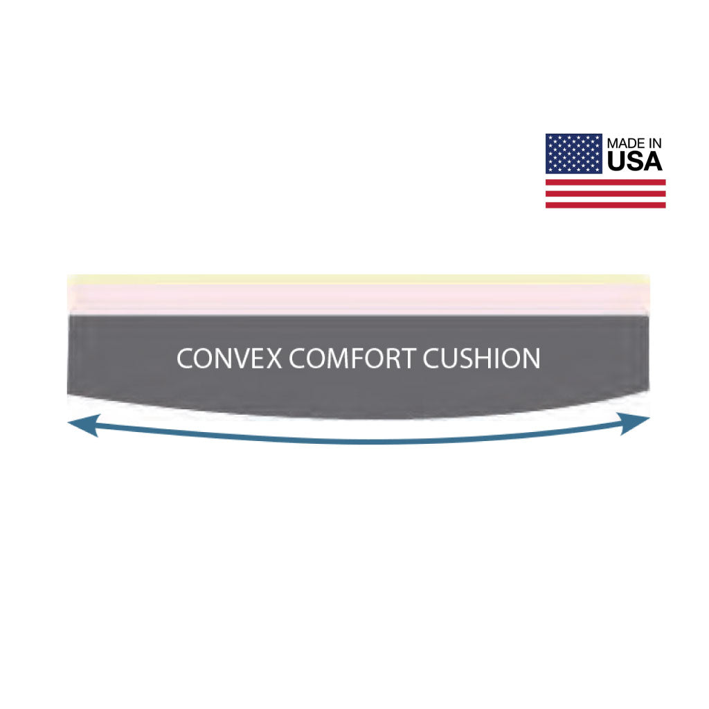 Keen Convex Bottom Comfort Journey Cushion Made in USA