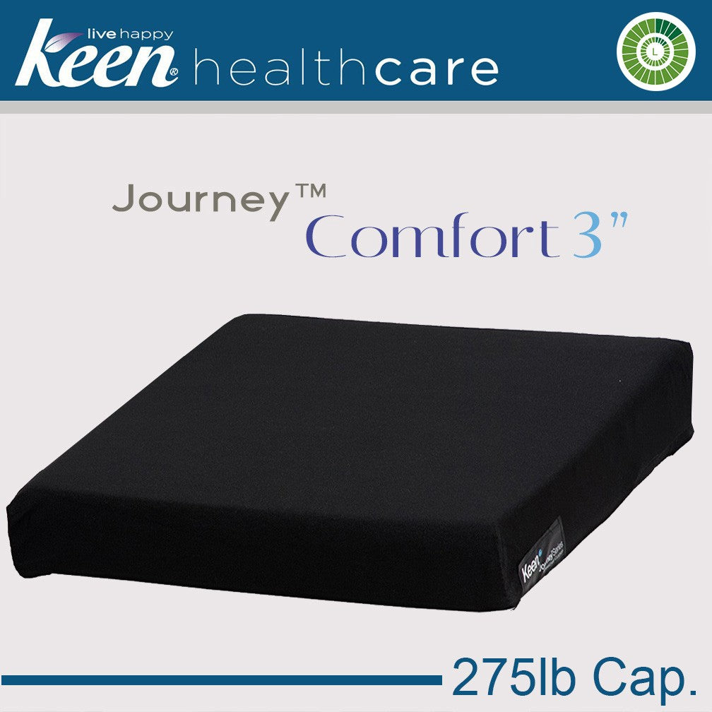 Case of 6 Keen® Journey™ Comfort 3″ Cushions
