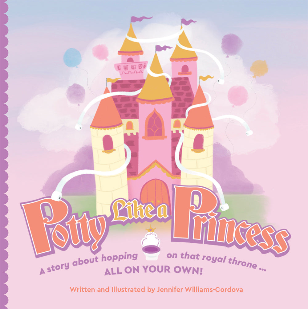 Book Cover for Potty Like a Princess