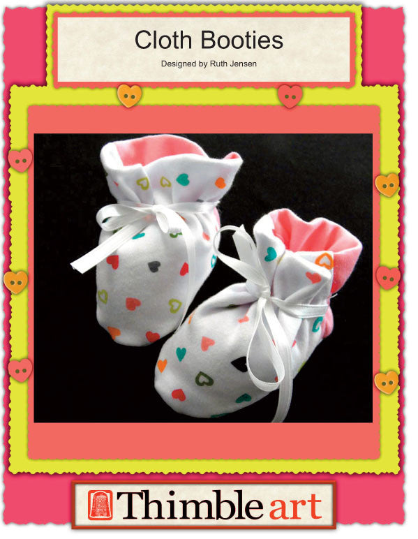 Cloth Baby Booties