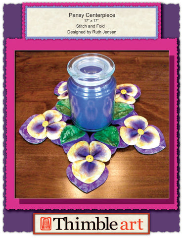 Pansy Centerpiece