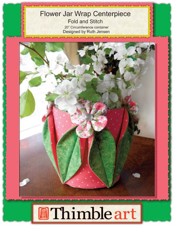 Flower Jar Wrap