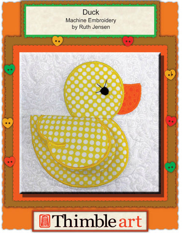 Duck Quilt (Machine Embroidery)