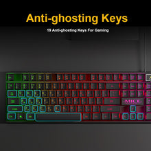 Load image into Gallery viewer, iMice Gaming Keyboard Imitation Mechanical Keyboard Backlight Spainsh Russian Gamer Keyboard Wired USB Game keyboards Computer